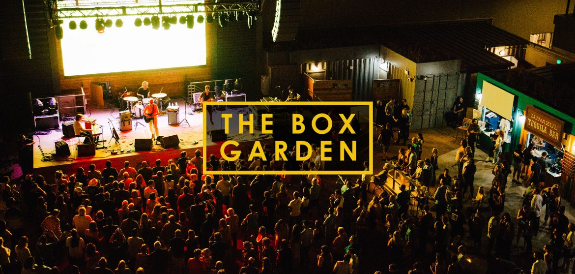 The Box Garden at Legacy Hall Grand Opening
