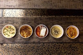 The Italian Job Brings Quick-Serve Pasta Bowls to Plano's Food Hall