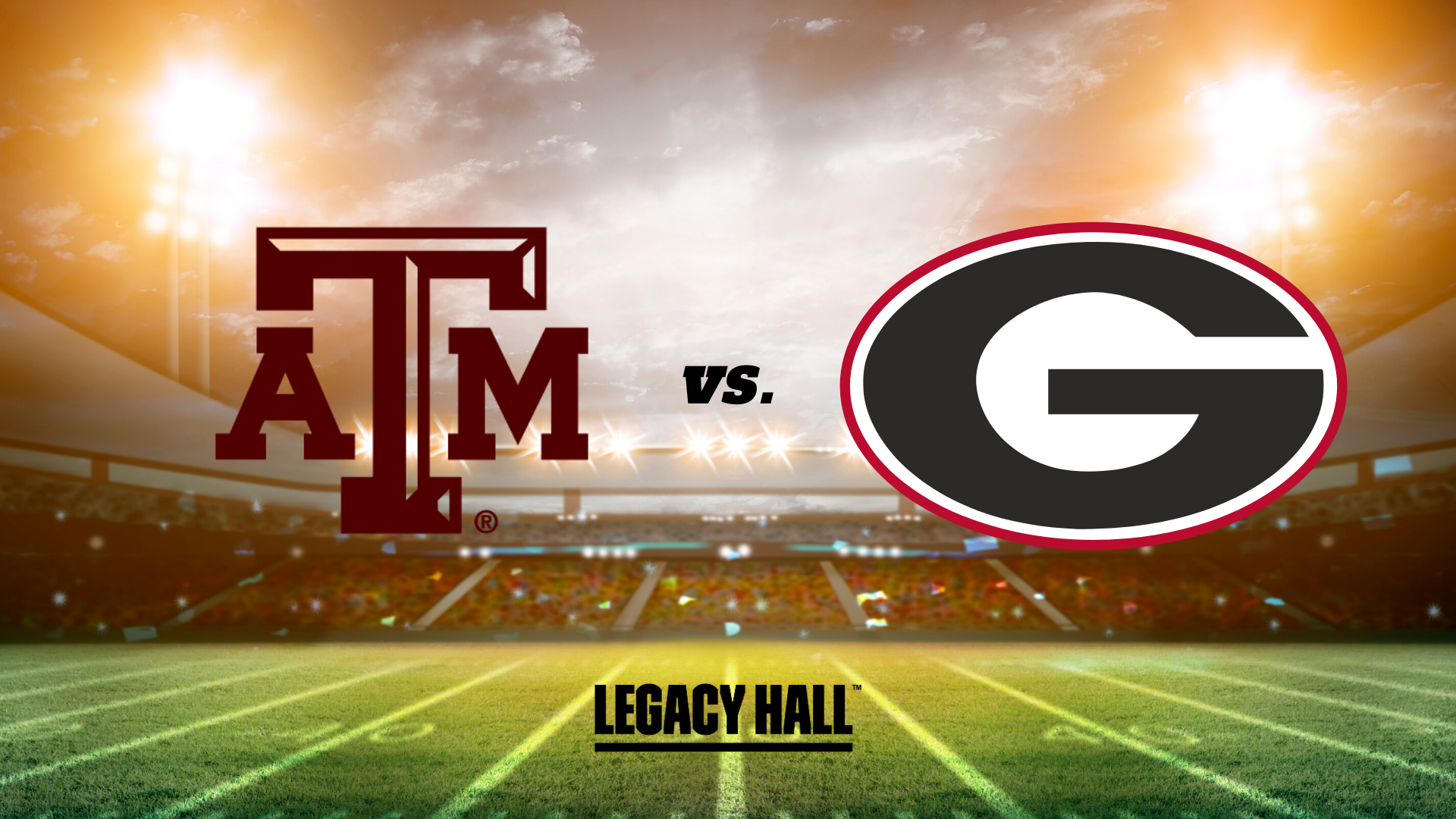 Texas A&M vs Georgia Watch Party - hero