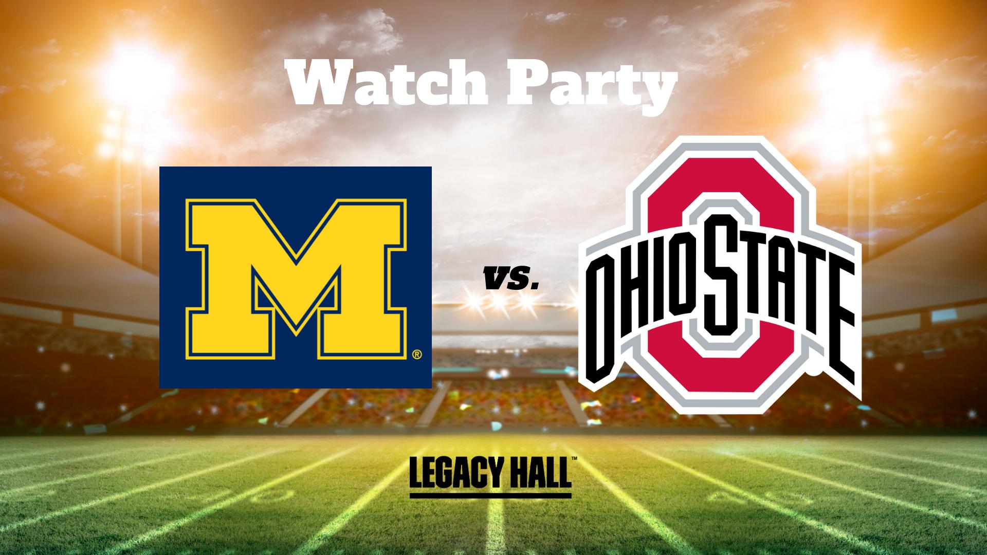 Michigan vs. Ohio State Watch Party - hero