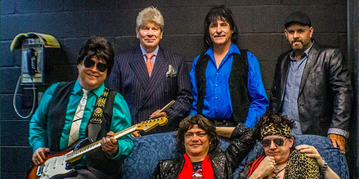 Promo image of The Stoneleighs (Rolling Stones Tribute Band)