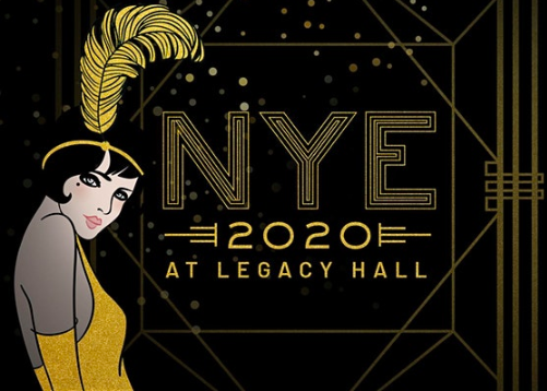 ROARING 2020'S NEW YEAR'S EVE BLOWOUT