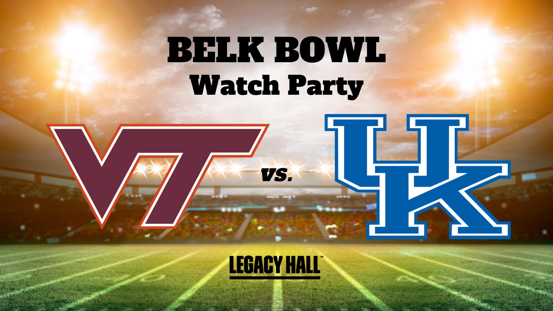 Belk Bowl Watch Party - hero