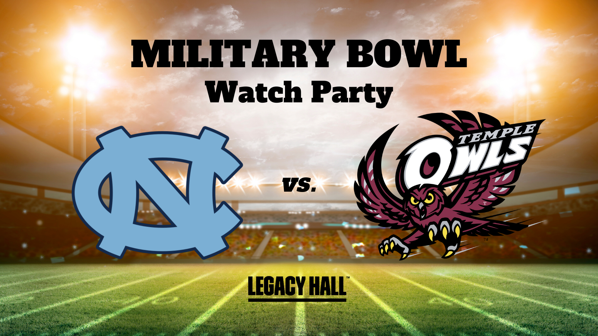 Military Bowl Watch Party - hero