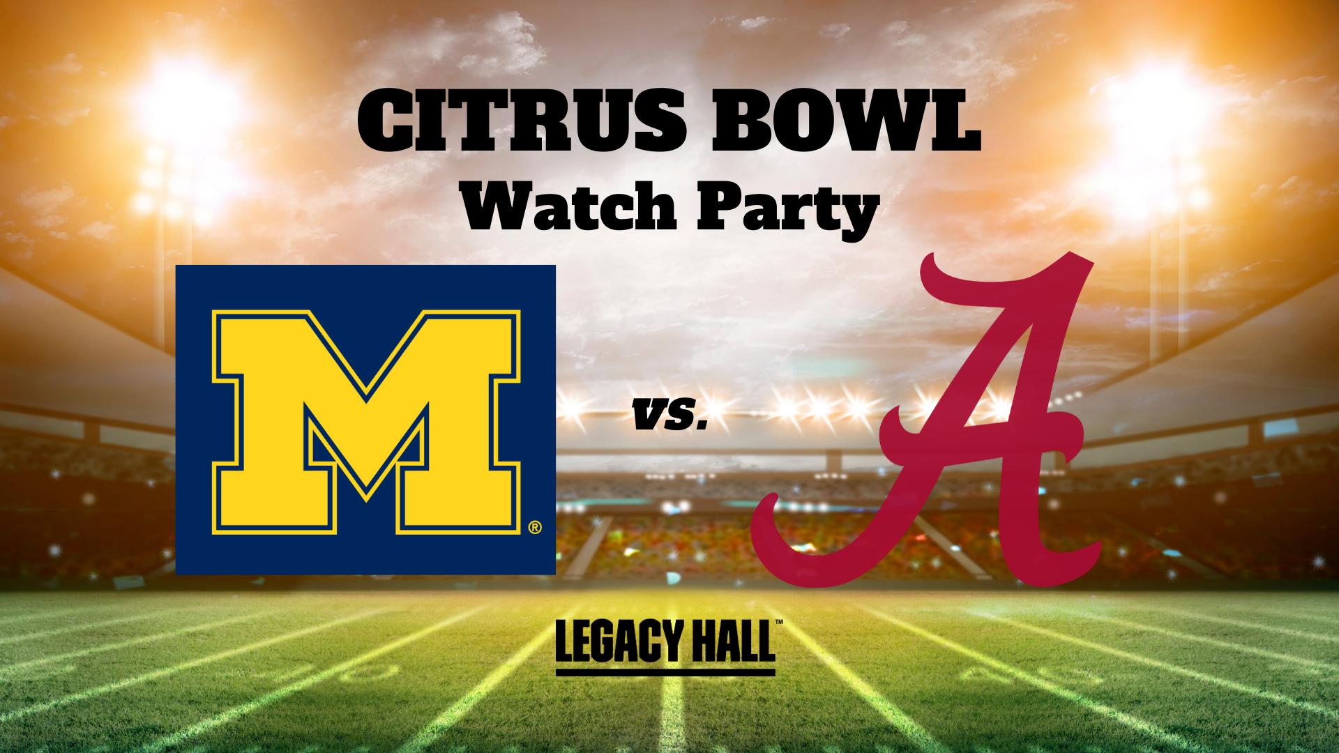 Citrus Bowl Watch Party - hero