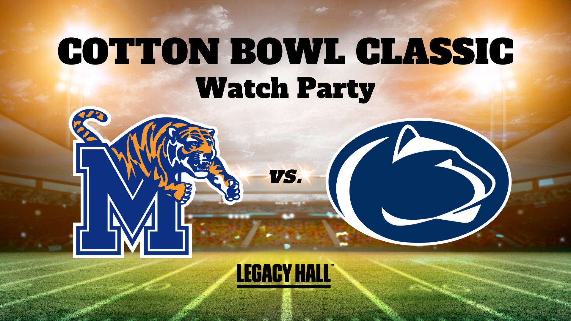 Cotton Bowl Classic Watch Party - hero