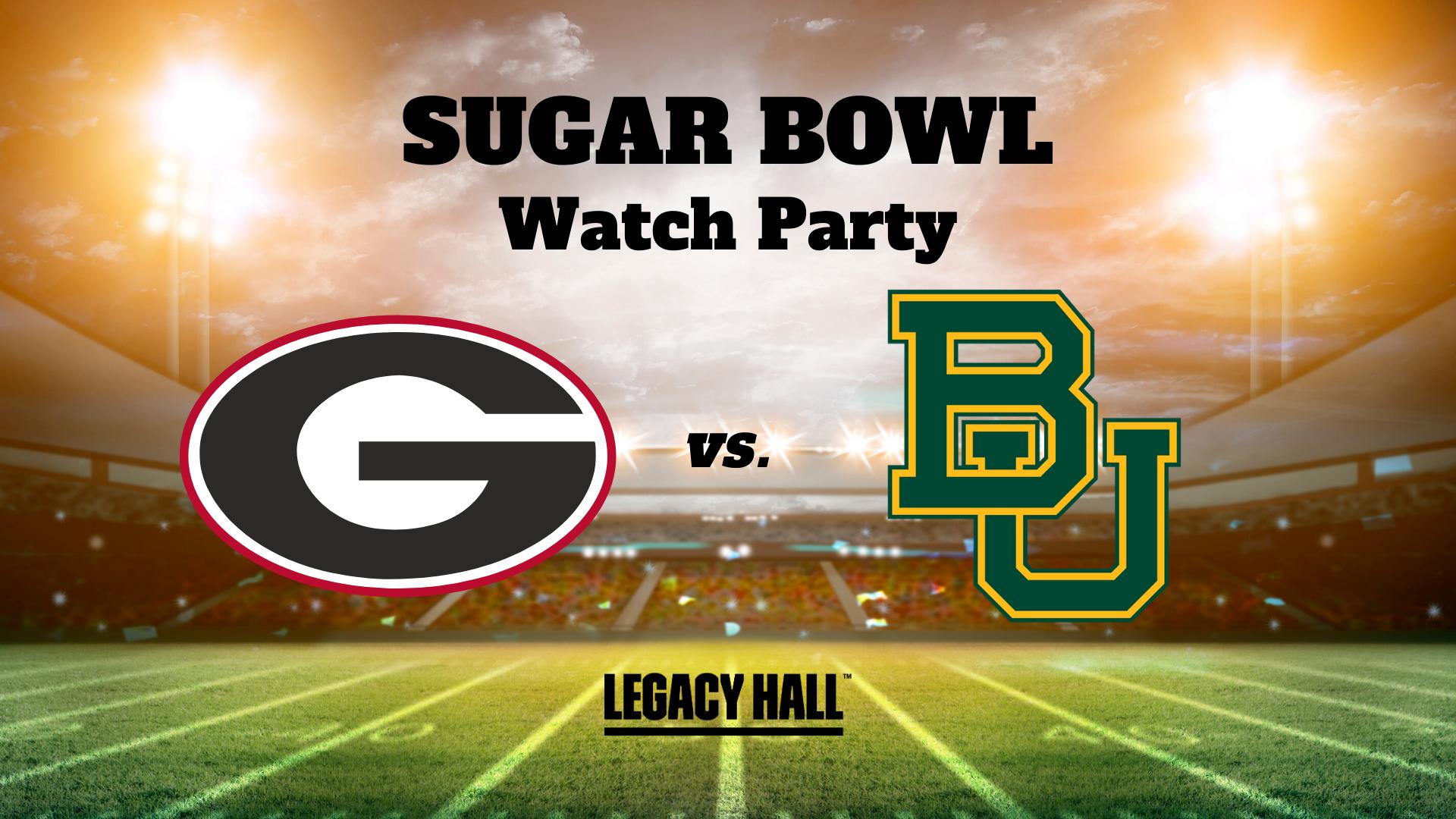 Sugar Bowl Watch Party - hero
