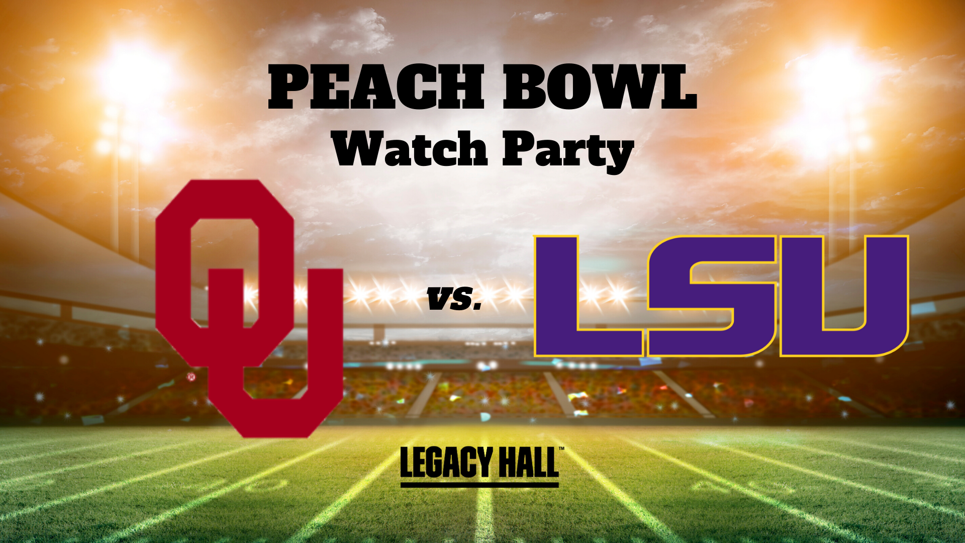 Peach Bowl Watch Party - hero
