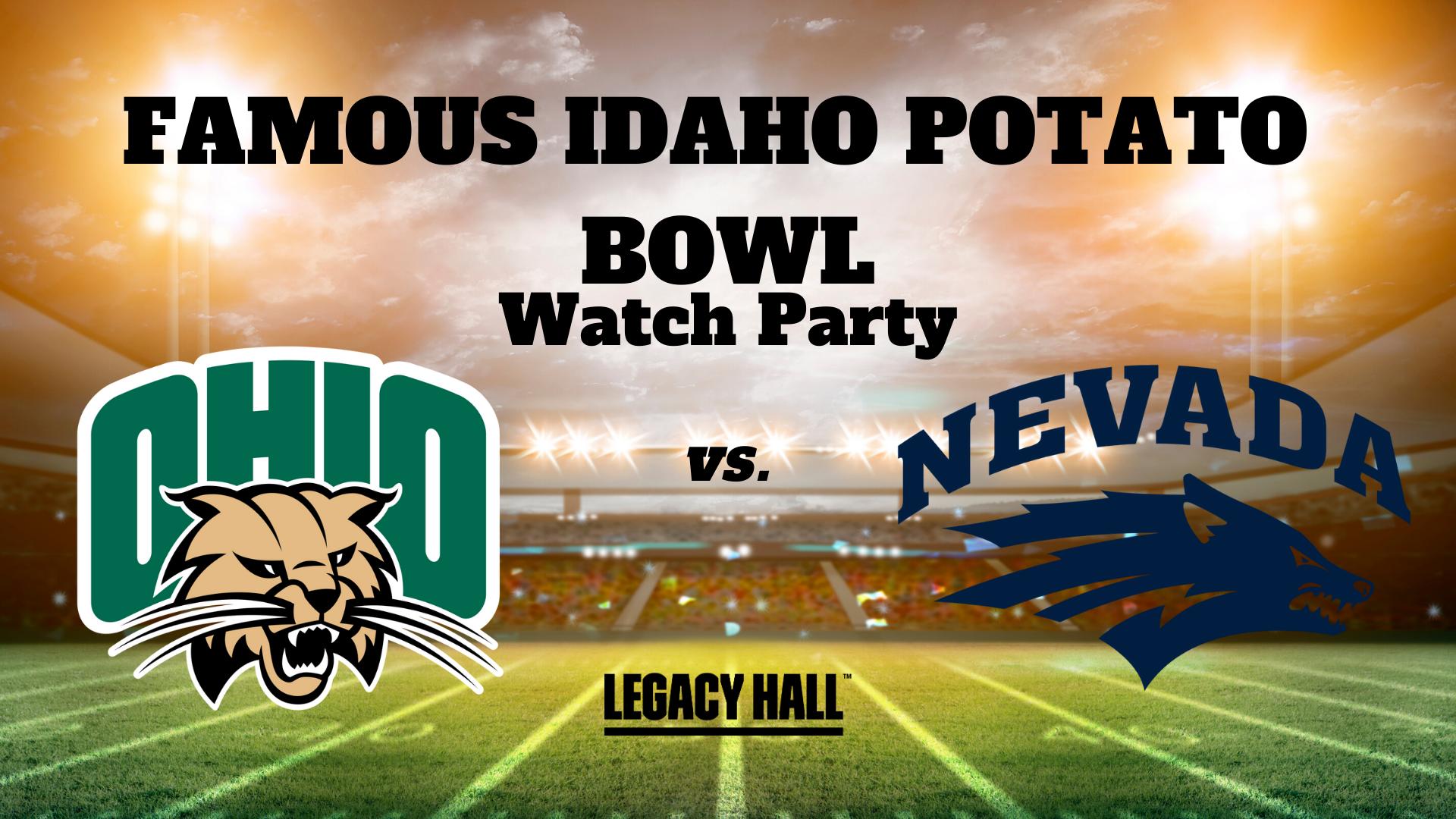 Famous Idaho Potato Bowl Game Watch Party - hero
