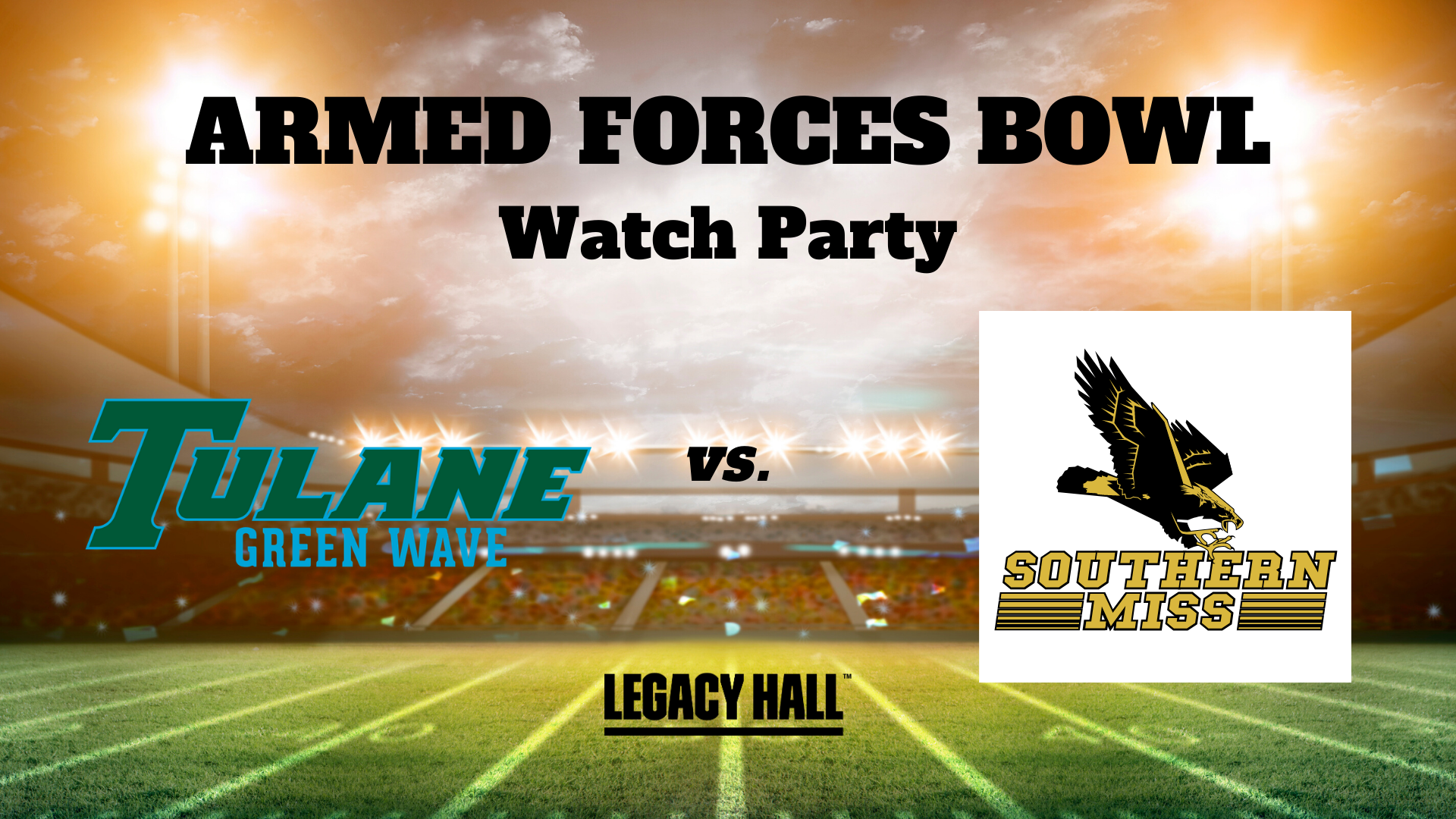 Armed Forces Bowl Watch Party - hero