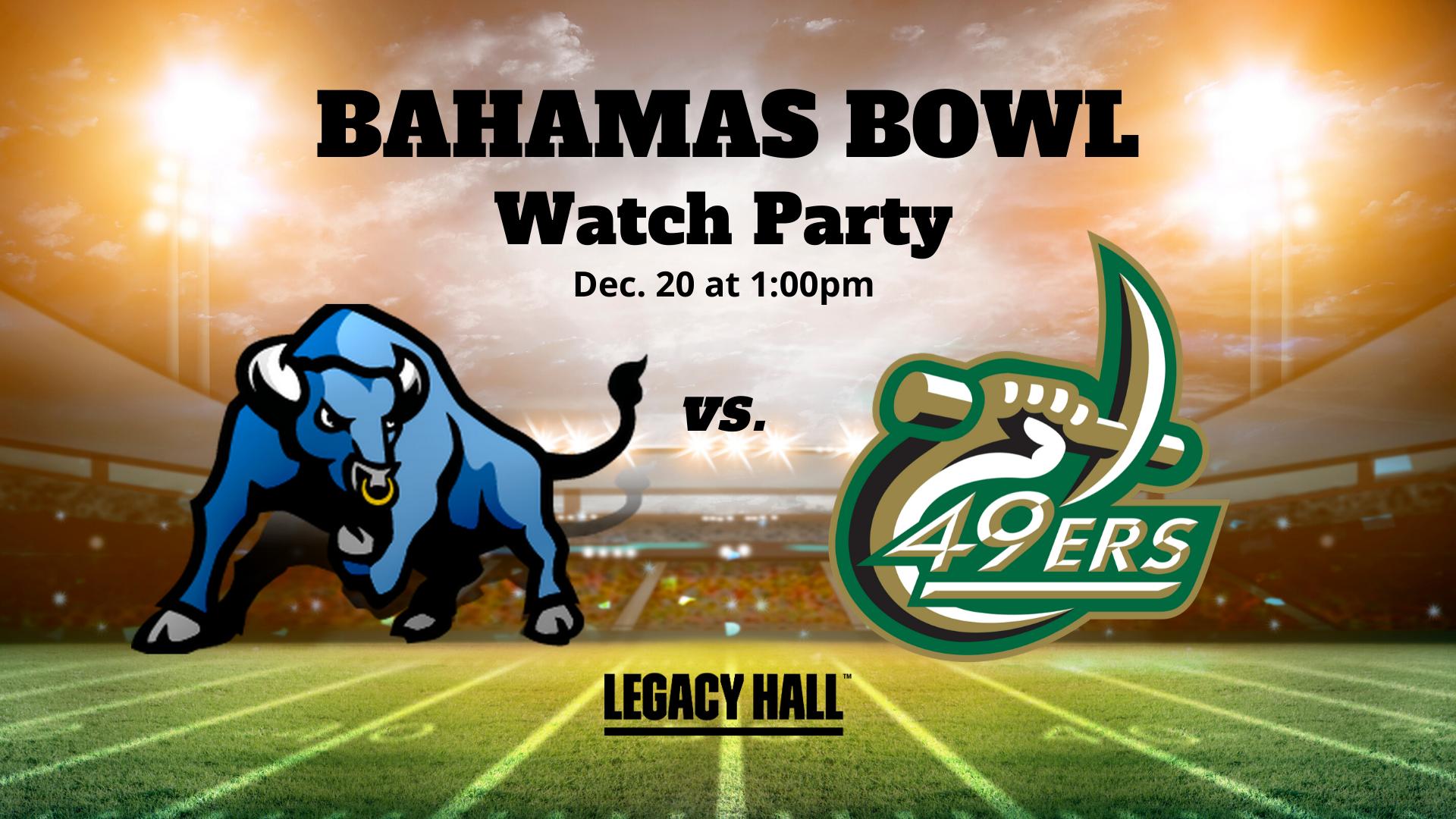 Bahamas Bowl Watch Party - hero