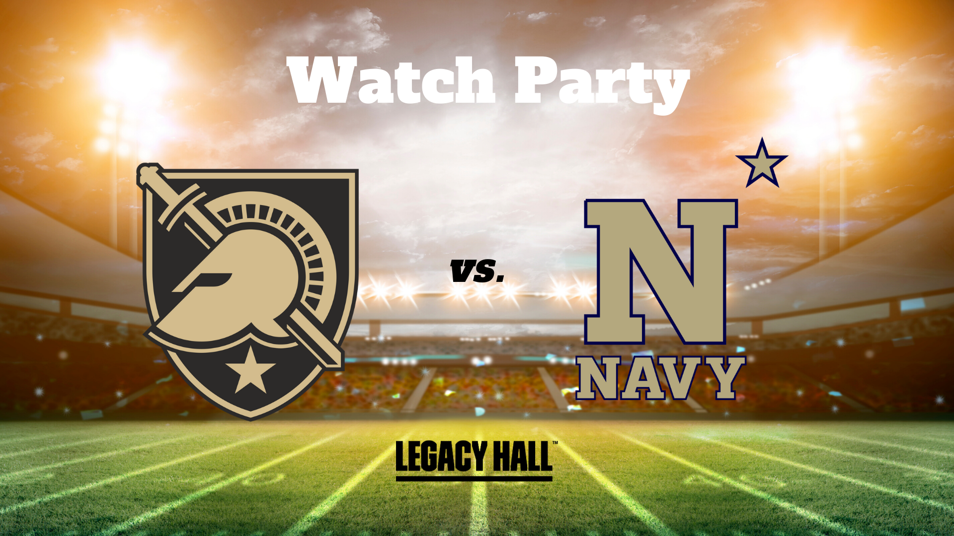 Army vs. Navy Watch Party
