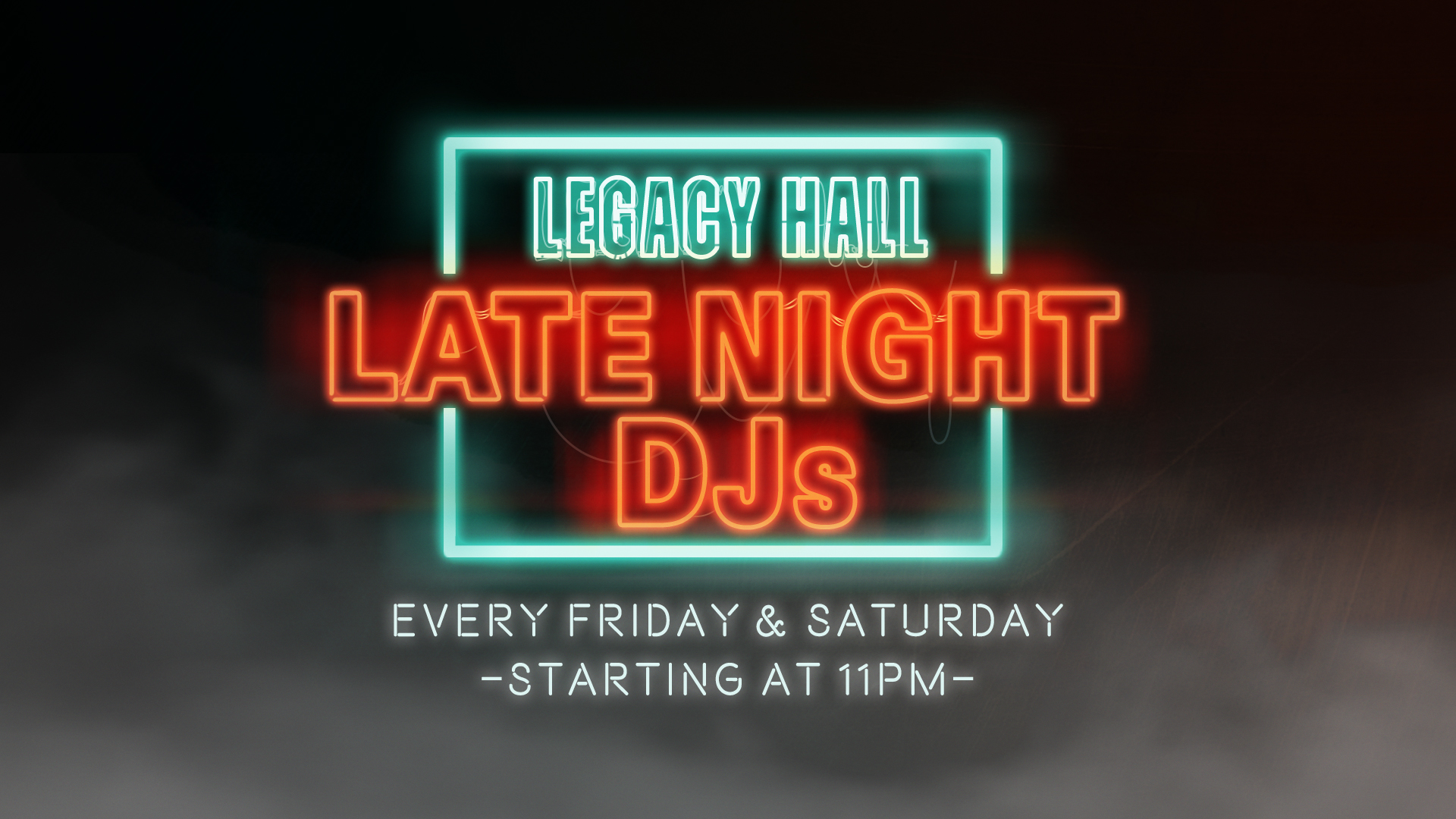 Promo image of Late Night DJ
