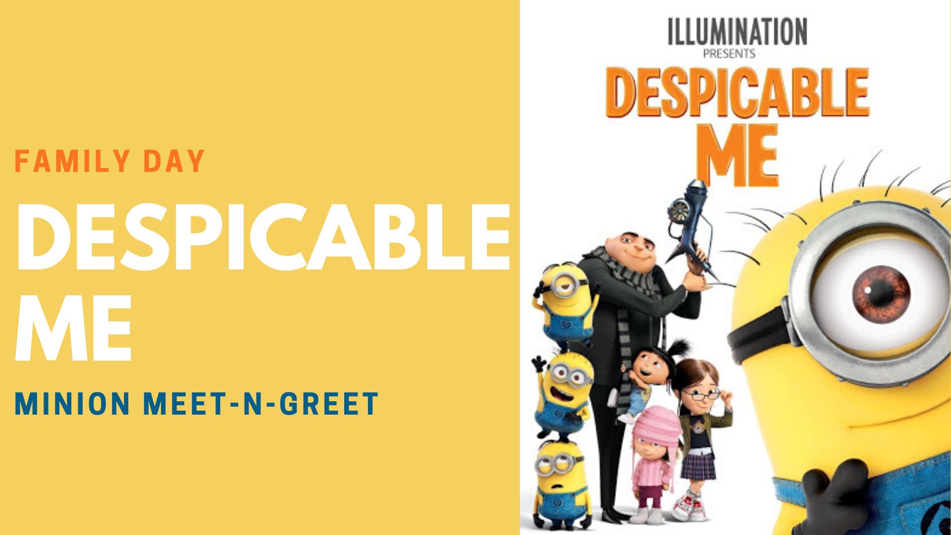 Despicable Me Movie w/ Minions - hero