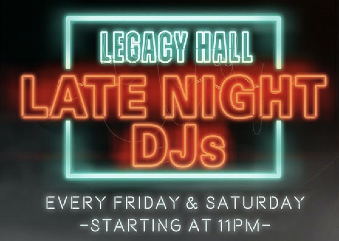 Late Night DJ - hero