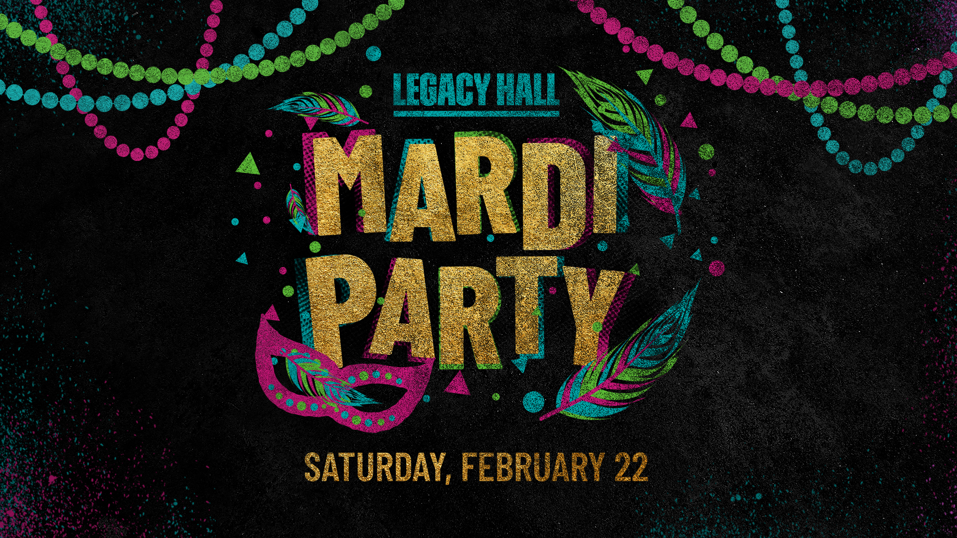 Promo image of Mardi Party