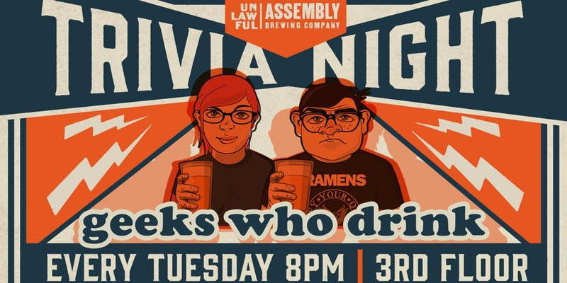 Promo image of Geeks Who Drink Trivia Night