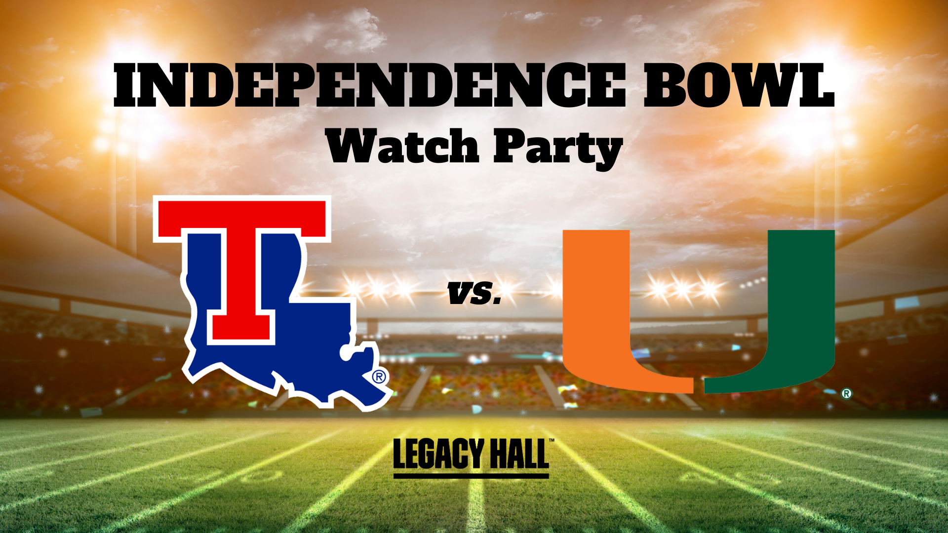Independence Bowl Watch Party - hero