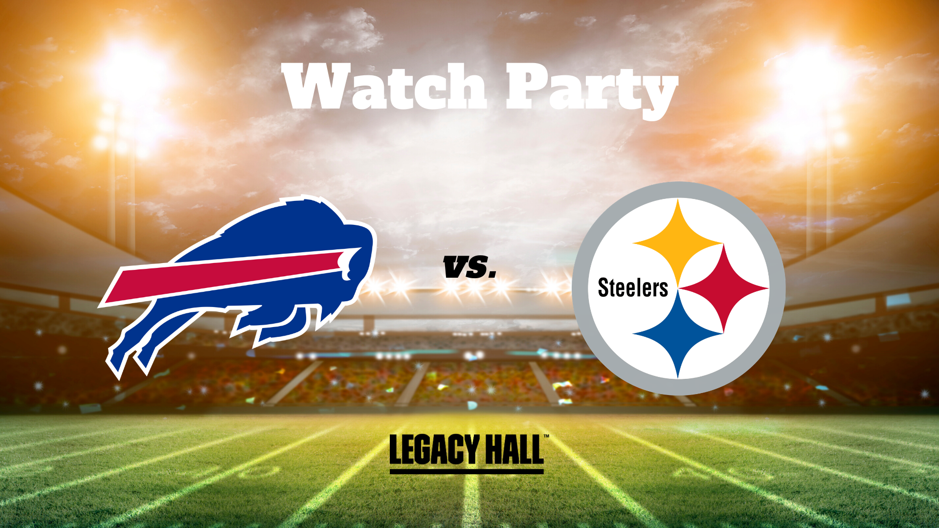 Bills vs. Steelers Watch Party - hero