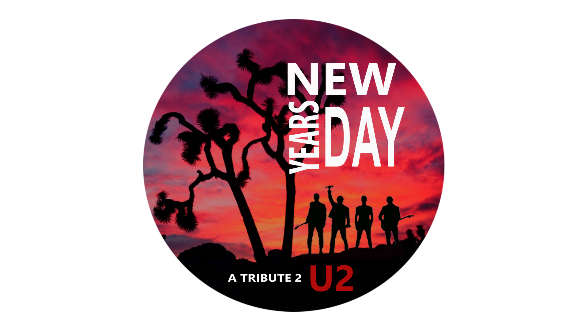 Promo image of New Years Day (U2 Tribute)