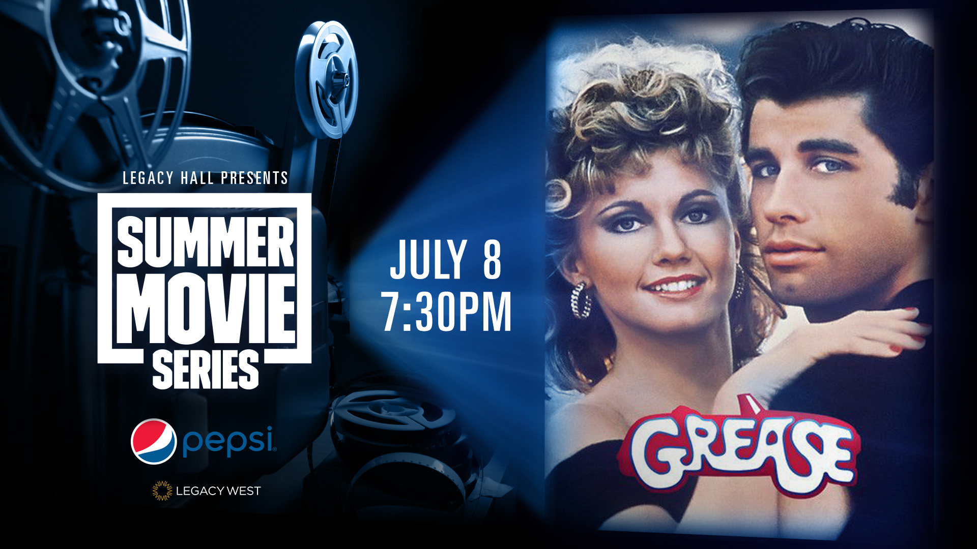 Promo image of Pepsi Summer Movies Series: Grease