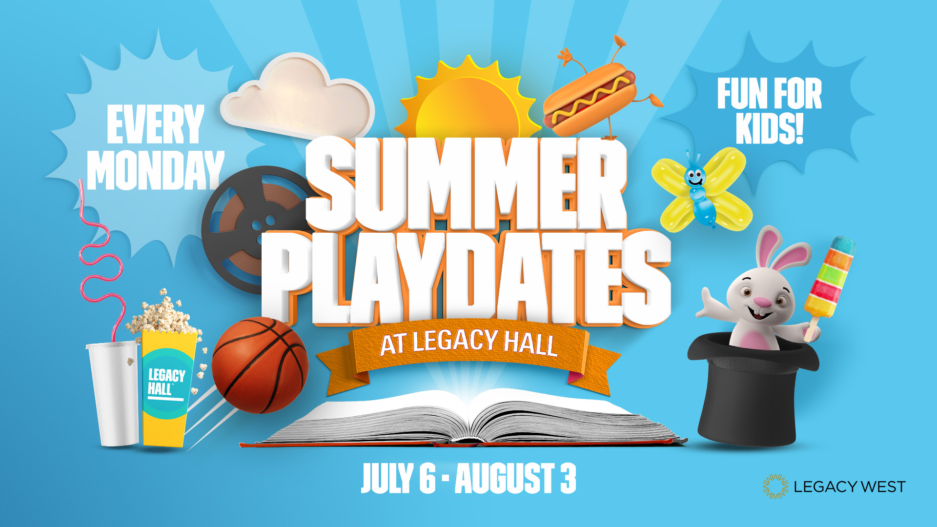 Promo image of Summer Playdates: Legacy West Photo Scavenger Hunt