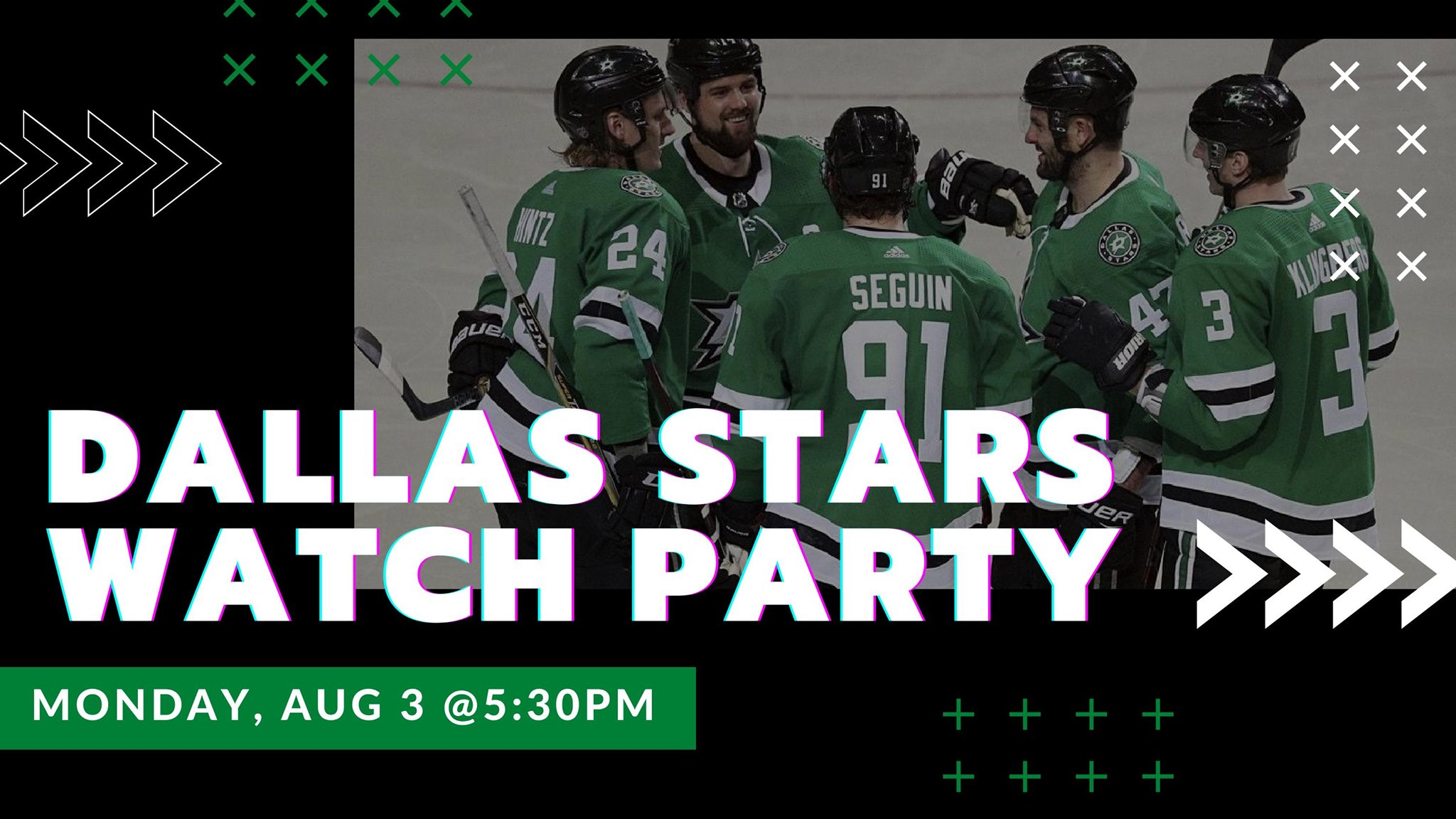 Stars vs. Golden Knights I Free Watch Party - hero