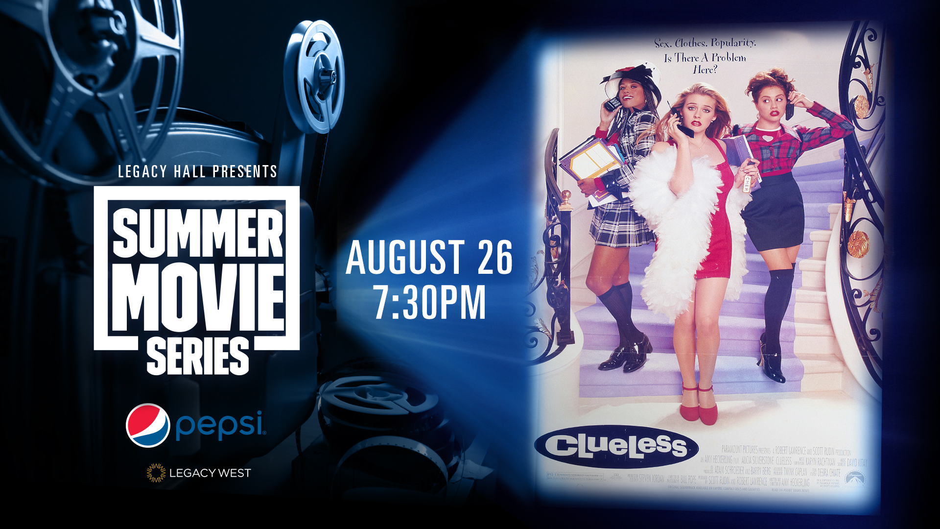 Promo image of Pepsi Summer Movie Series: Clueless