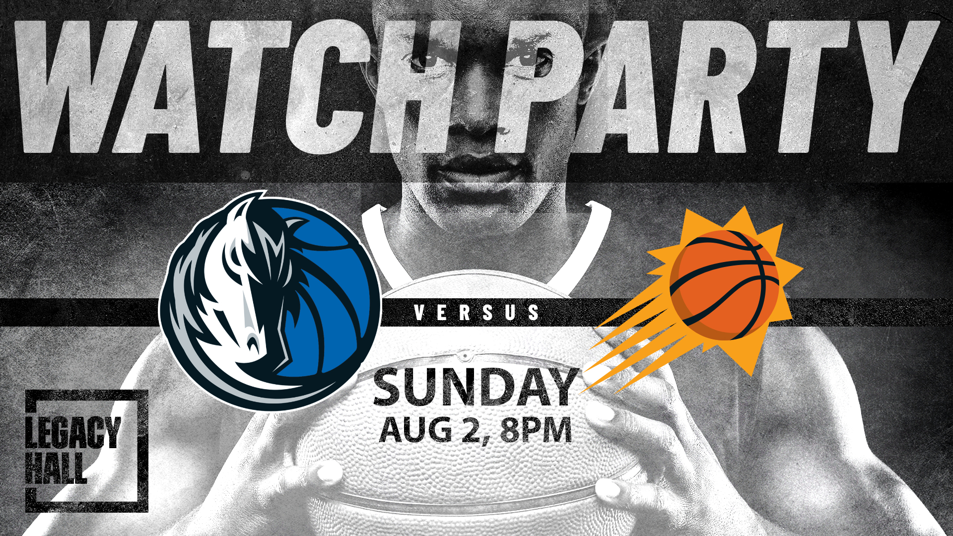 Mavericks vs. Suns Watch Party - hero