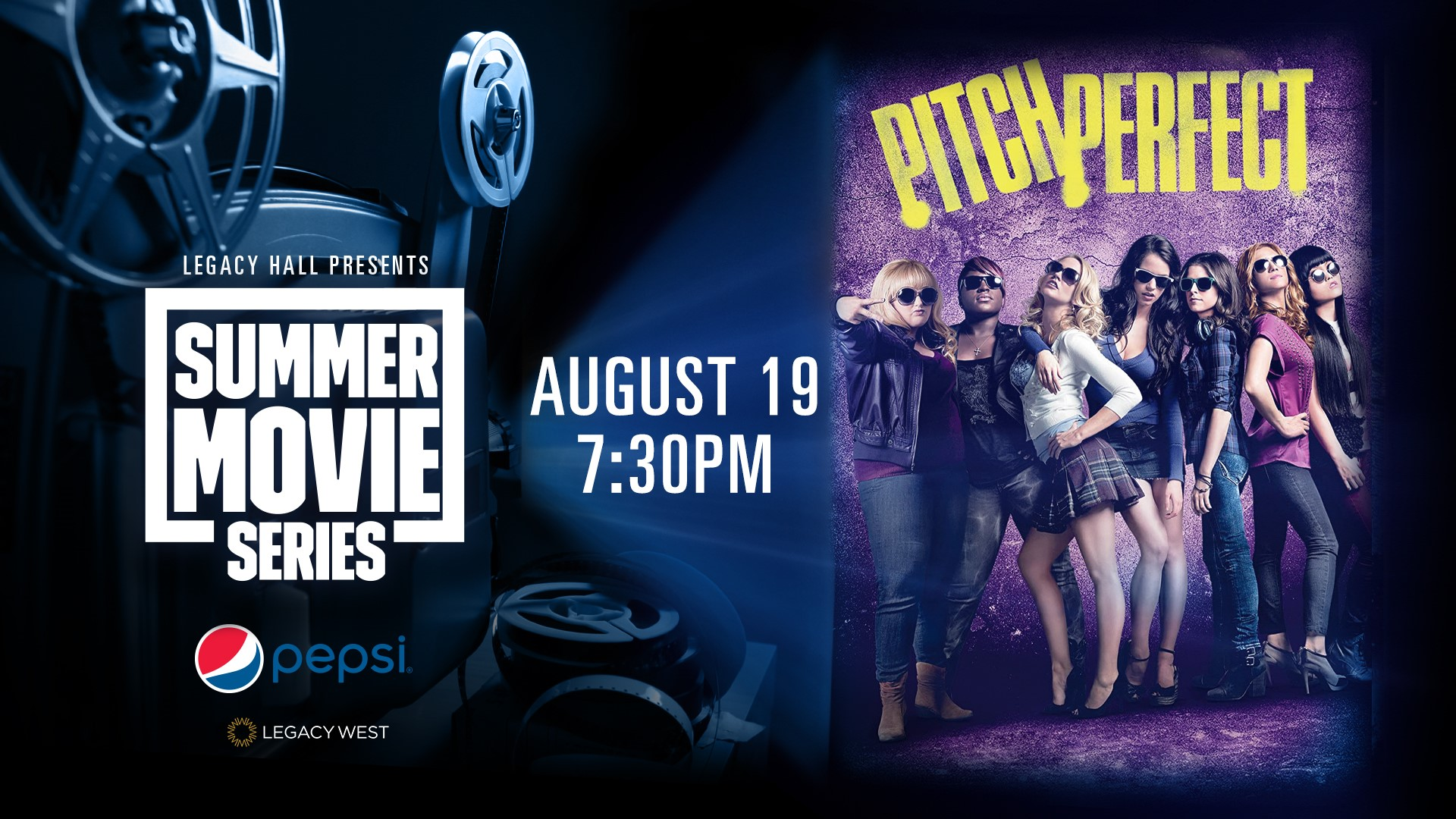 Promo image of Pepsi Summer Movie Series: Pitch Perfect