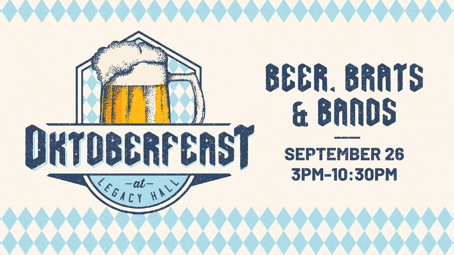 Promo image of 3rd Annual Oktoberfeast at Legacy Hall