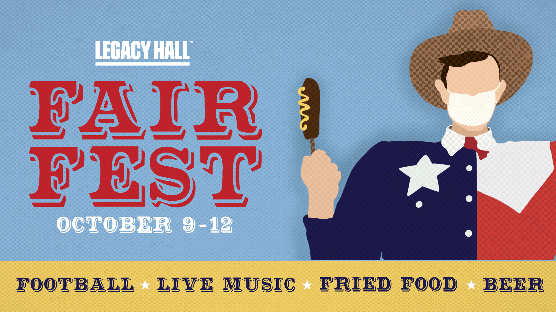 Promo image of October 9 – 12: Fair Fest