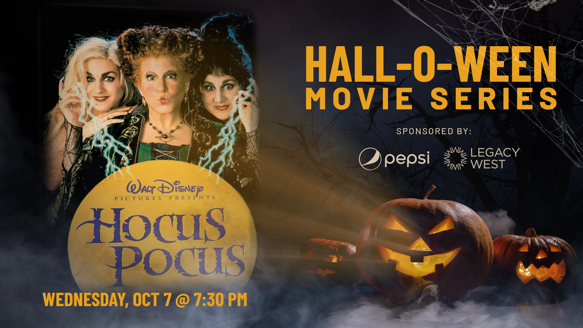 Pepsi Hall-O-Ween Movie Series: Hocus Pocus - hero