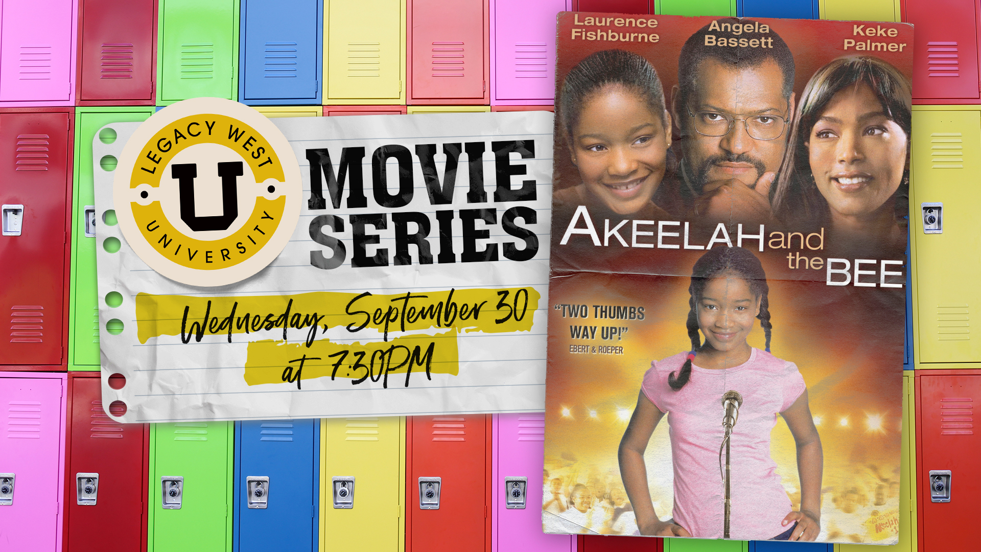 Legacy West University Movie Series: Akeelah and the Bee - hero