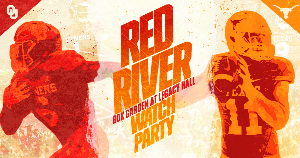 Promo image of Texas vs. Oklahoma Red River Watch Party
