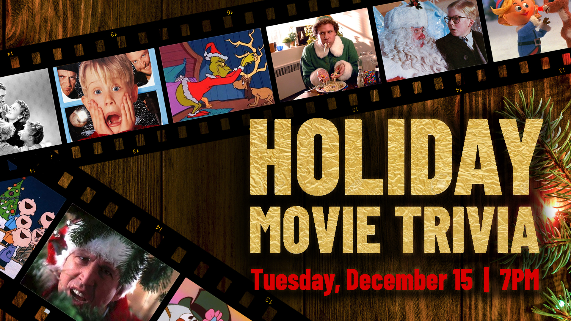 Promo image of Holiday Movie Trivia