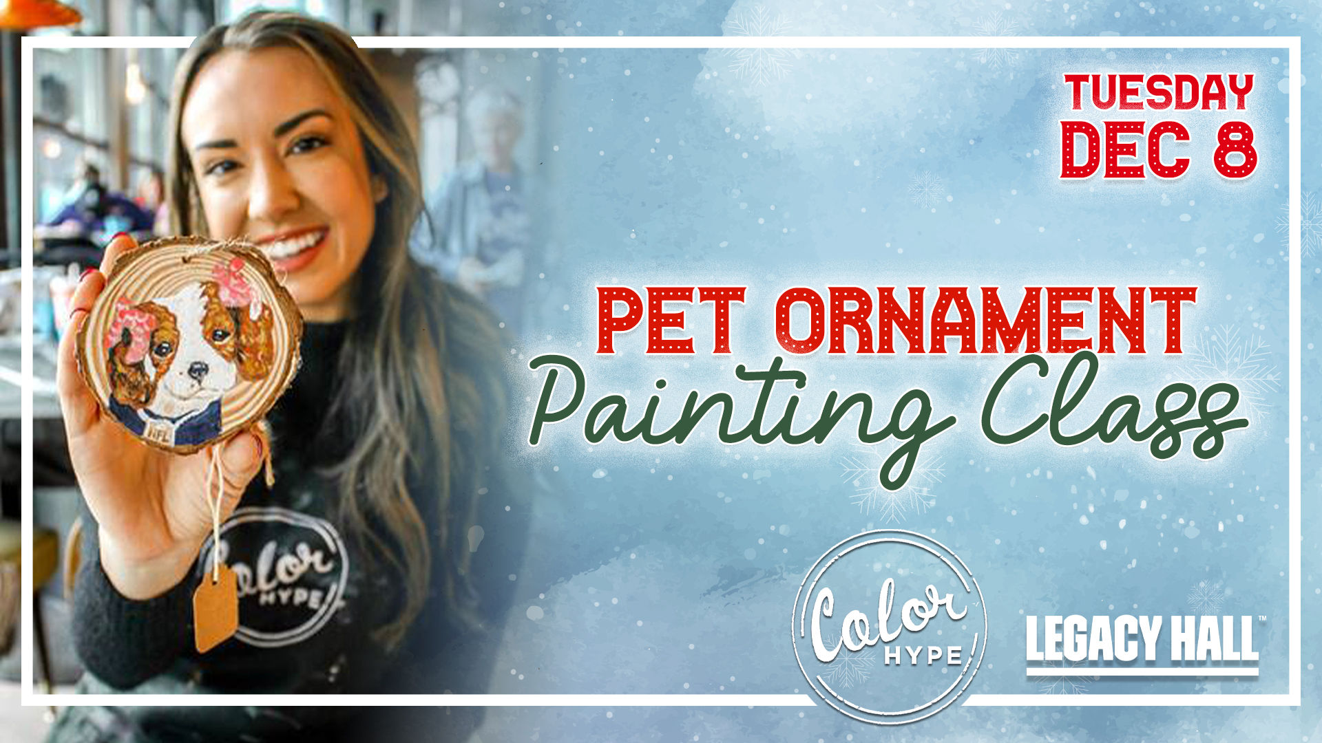 Promo image of Paint Your Pet Ornament at Legacy Hall