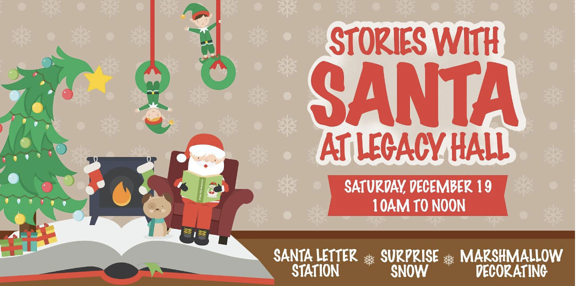 Promo image of Stories with Santa