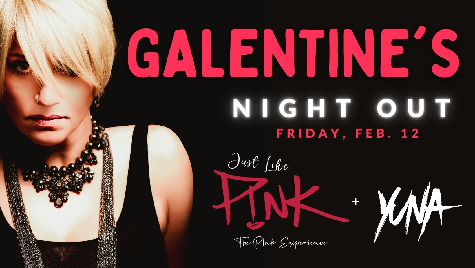 Promo image of Galentine's Night Out with Just Like P!nk