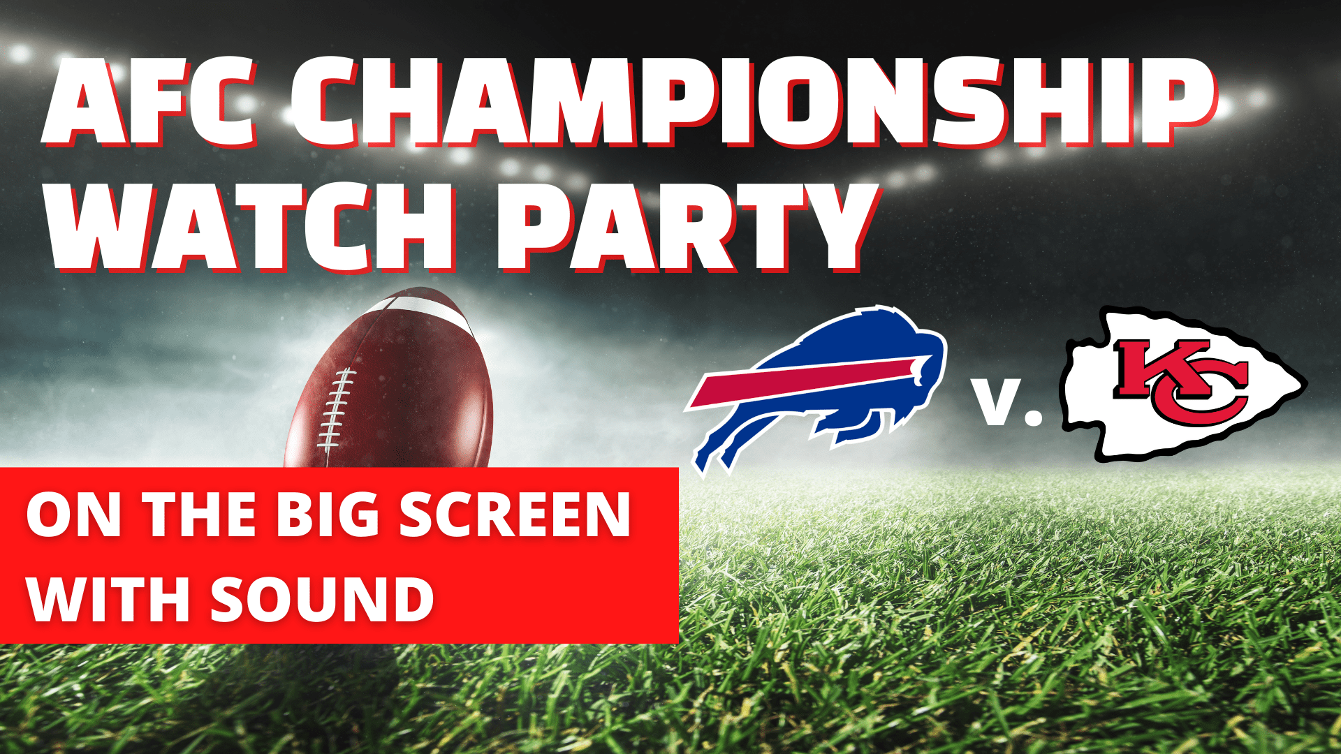 AFC Championship Watch Party - hero