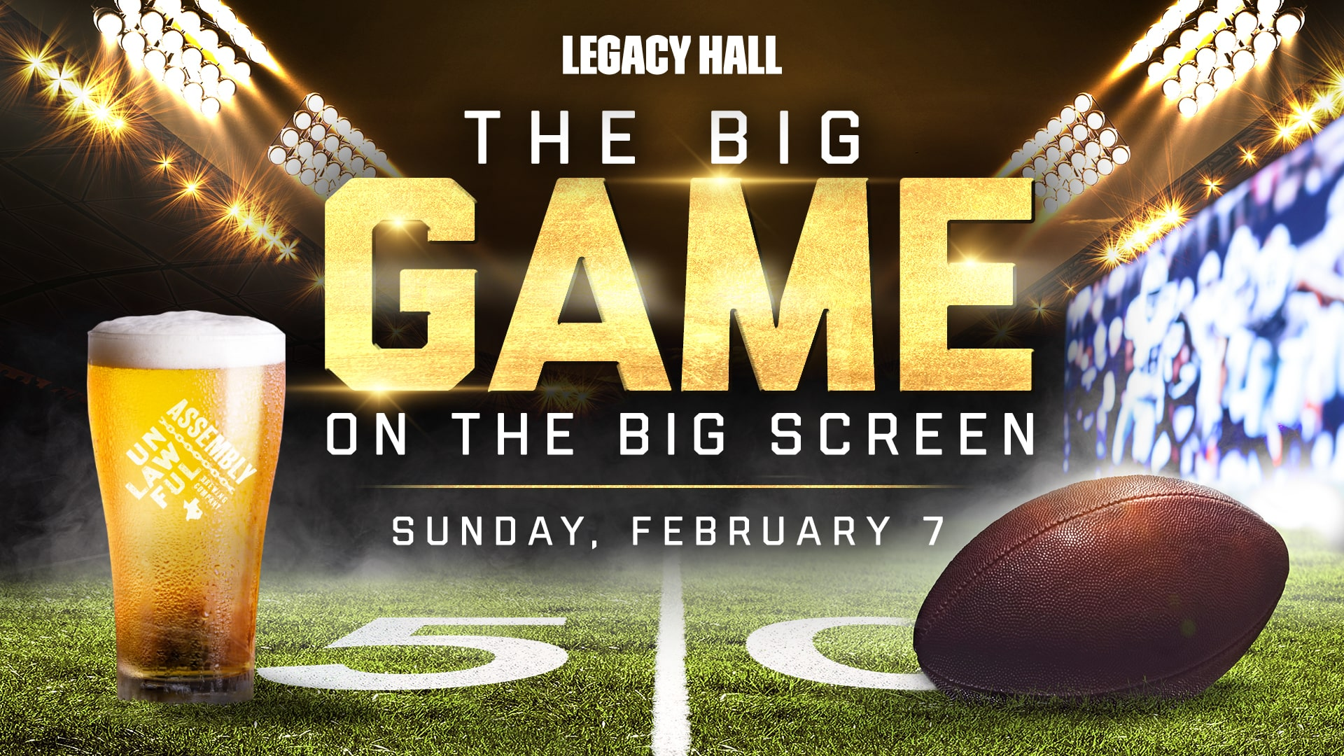 Promo image of The Big Game Watch Party