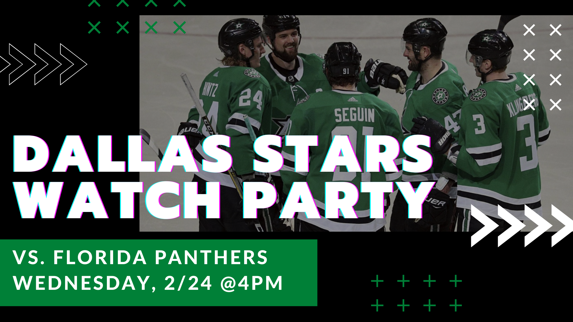 Stars v. Panthers Watch Party - hero
