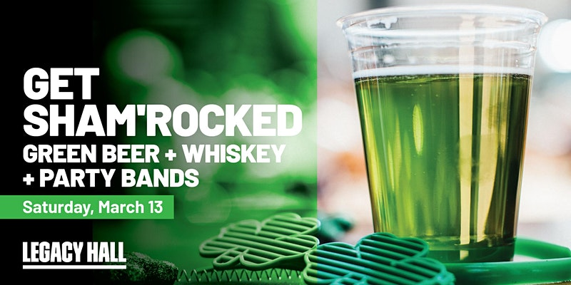 Promo image of St. Patrick's Weekend