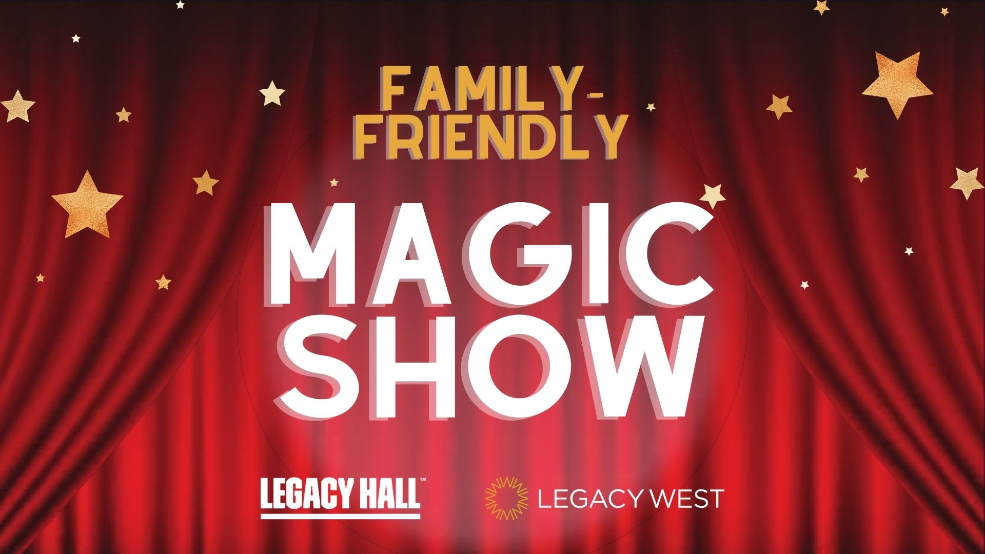 Promo image of Family-Friendly Magic Show