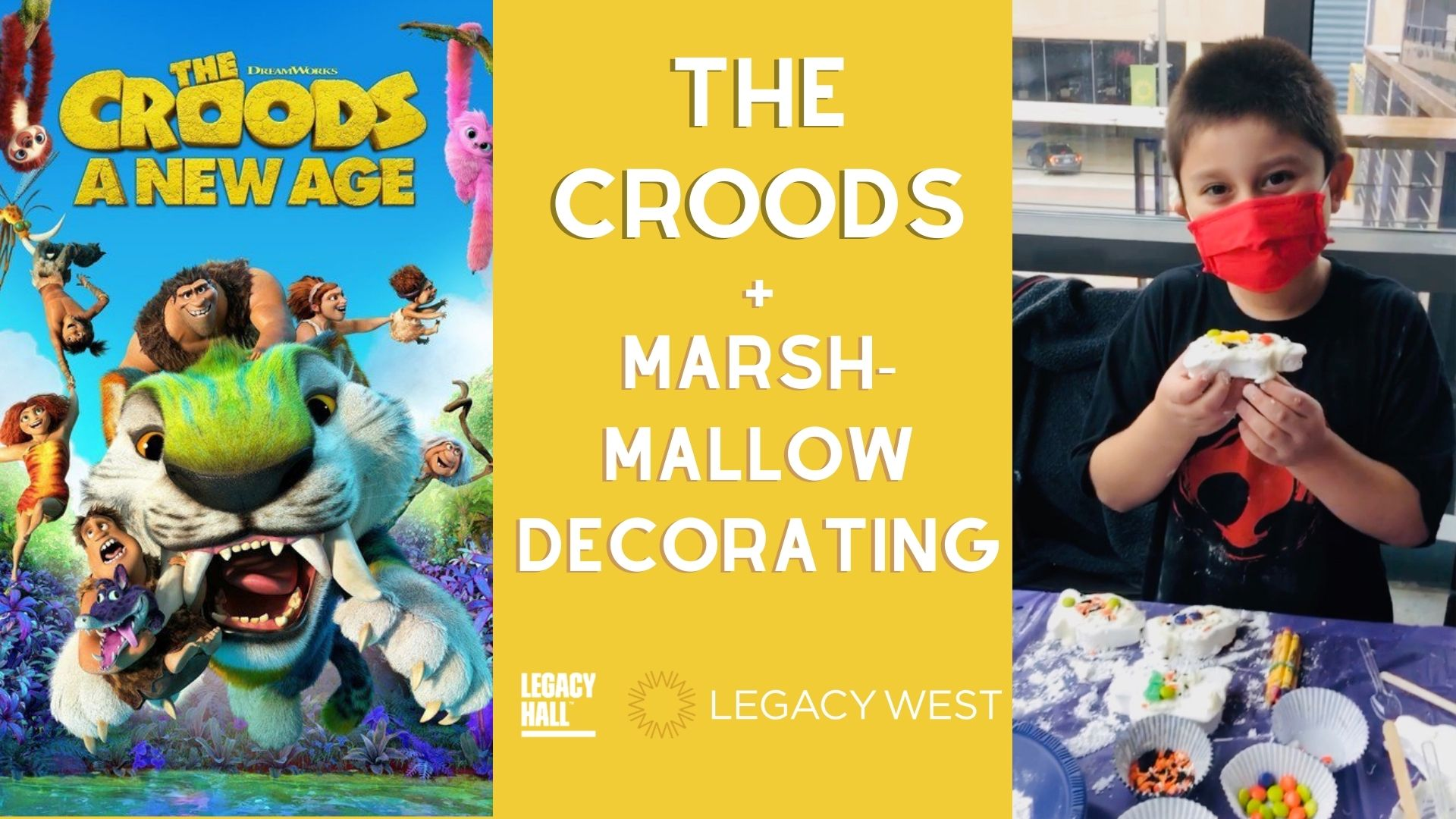 Promo image of The Croods + Marshmallow Decorating