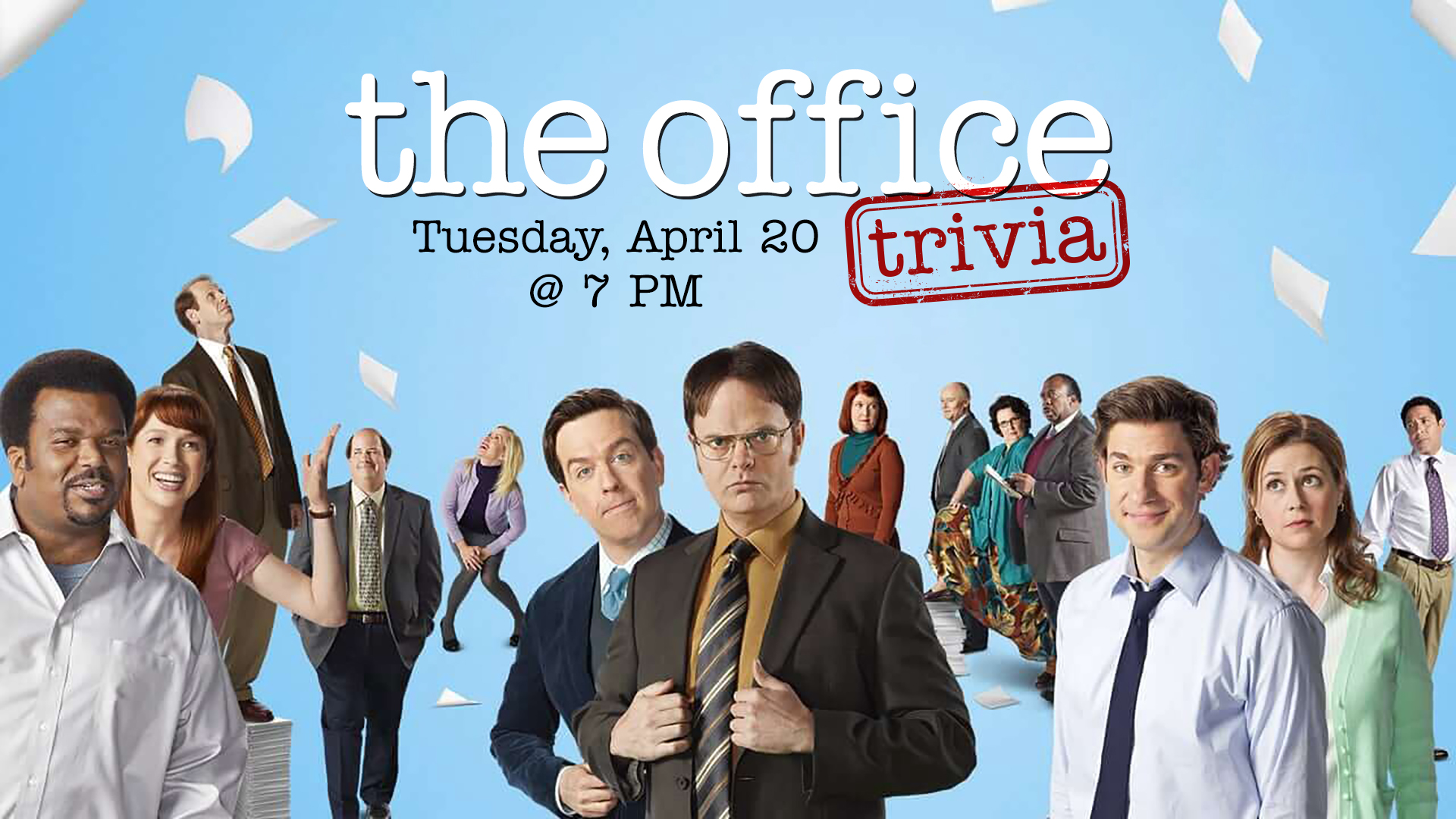 Promo image of The Office Trivia at Legacy Hall