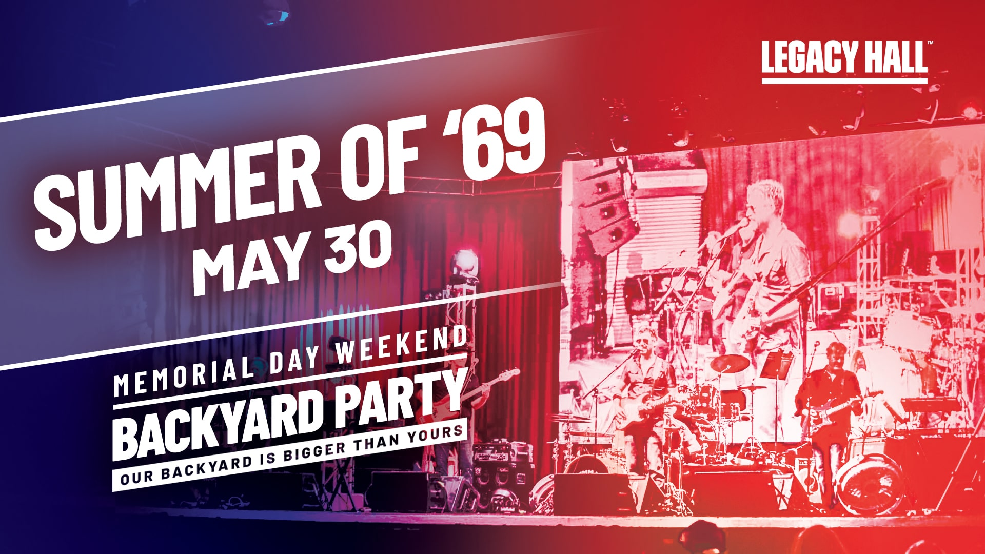 Promo image of Bryan Adams Tribute: Summer of '69