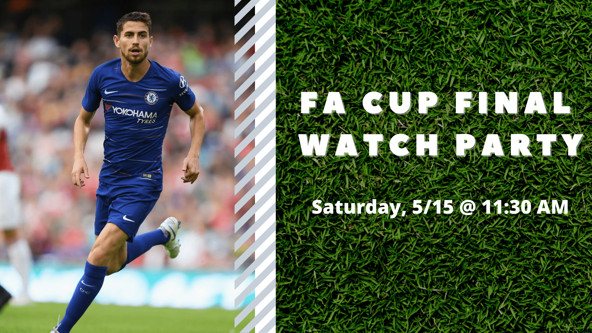 Promo image of FA Cup Final Watch Party