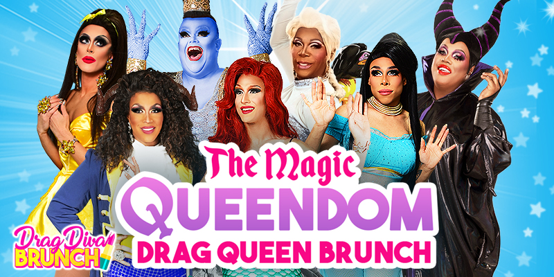Promo image of Disney Drag Brunch