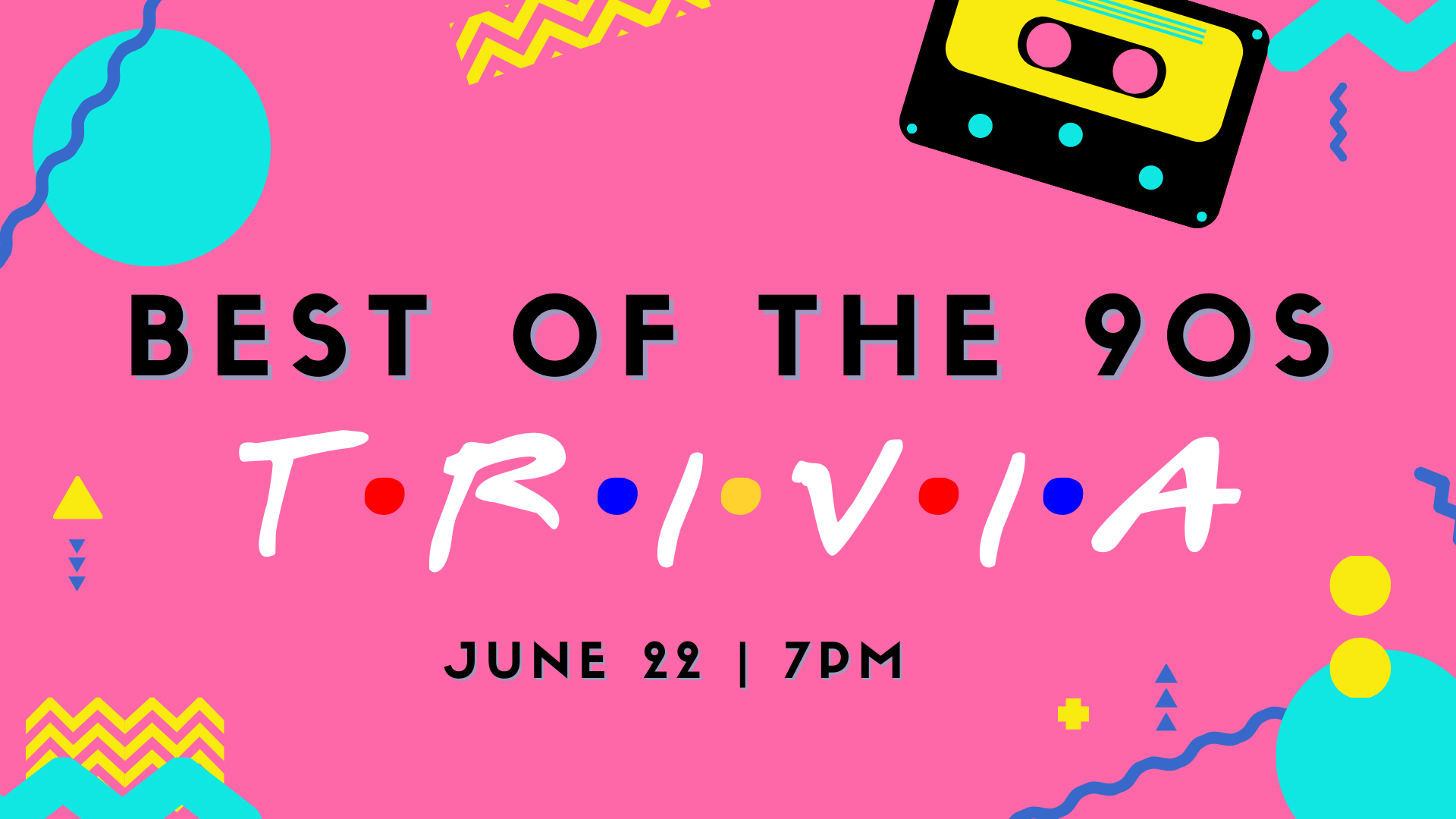 Promo image of Best of the 90s Trivia